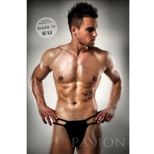 TANGA NEGRO 014 LISO SEX BY PASSION L/XL