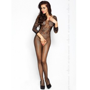 PASSION EROTICLINE CATSUIT NEGRO BS007