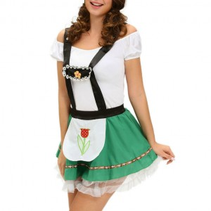 QUEEN COSTUME  VESTIDO OCTOBERFEST TALLA UNICA