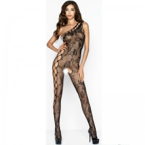 PASSION WOMAN BS036 BODYSTOCKING NEGRO TALLA UNICA
