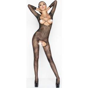 PASSION WOMAN BS040 BODYSTOCKING NEGRO TALLA UNICA