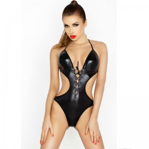 PASSION WOMAN JEAN TEDDY NEGRO TALLA S/M