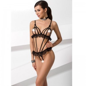 PASSION WOMAN LEILA TEDDY NEGRO TALLA L/XL