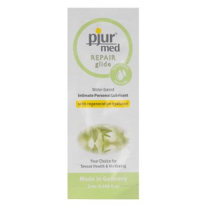 PJUR MED REPAIR GLIDE LUBRICANTE AGUA RE-GENERATIVO 2 ML