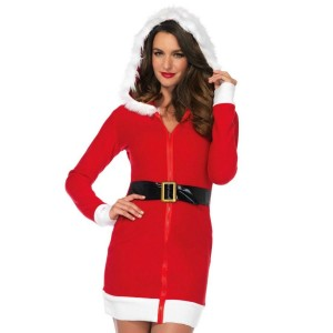 LEG AVENUE SANTA CLAUS SEXY DRESS  TALLA M