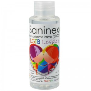 SANINEX EXTRA LUBRICANTE INTIMO GLICEX LESBIAN 100 ML
